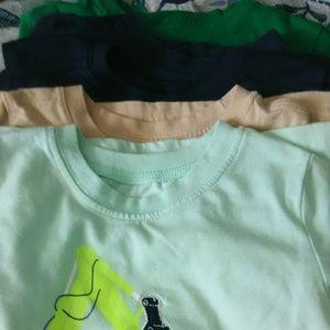 5 size 4t boy shirts